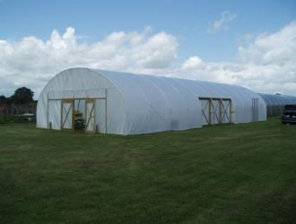 Completed poly tunnel June 2012