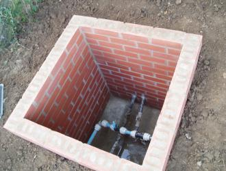 New manhole for site water supply 02